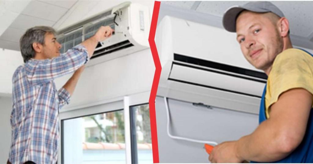 ar condicionado manutenção x